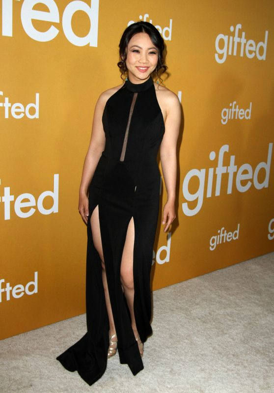 """Jona Xiao at """"Gifted"""" Premiere in Los Anegeles 4/4/2017"""