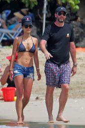 Jordana Brewster Bikini Candids - Hawaii, April 2017