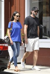 Jordana Brewster - Out in Los Angeles 4/26/2017