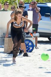 Josephine Skriver - Victoria Secrets Photoshoot in South Beach 04/25/2017