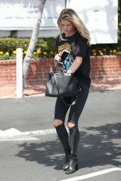 Josie Canseco Street Style - Out in West Hollywood, April 2017