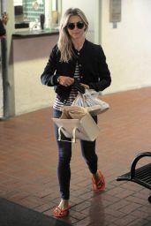 Julianne Hough - Leaving a Nail Salon in Beverly Hills 4/13/2017