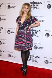 """Juno Temple - """"One Percent More Humid"""" Premiere in NYC 4/21/2017"""