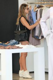 Kara Del Toro Shows Off Her Legs - Shopping in Beverly Hills 4/7/2017