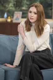 Karen Gillan Appeared on This Morning TV Show in London 04/25/2017