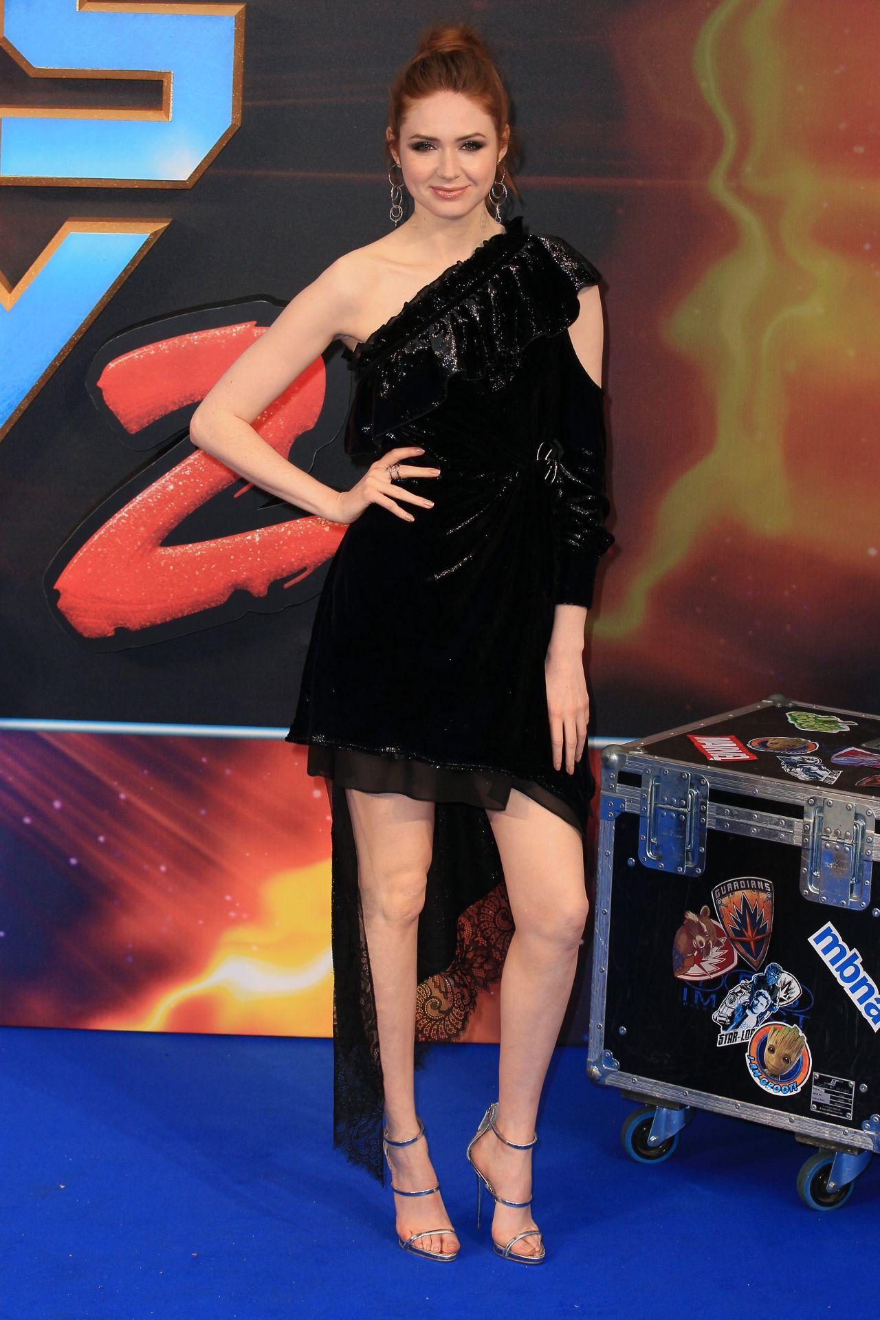 Karen Gillan At Guardians Of The Galaxy Vol 2 Premiere In