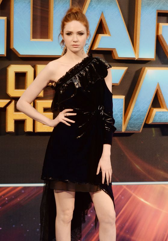 Karen Gillan at Guardians of the Galaxy Vol.2 Premiere in London, UK 04/24/2017