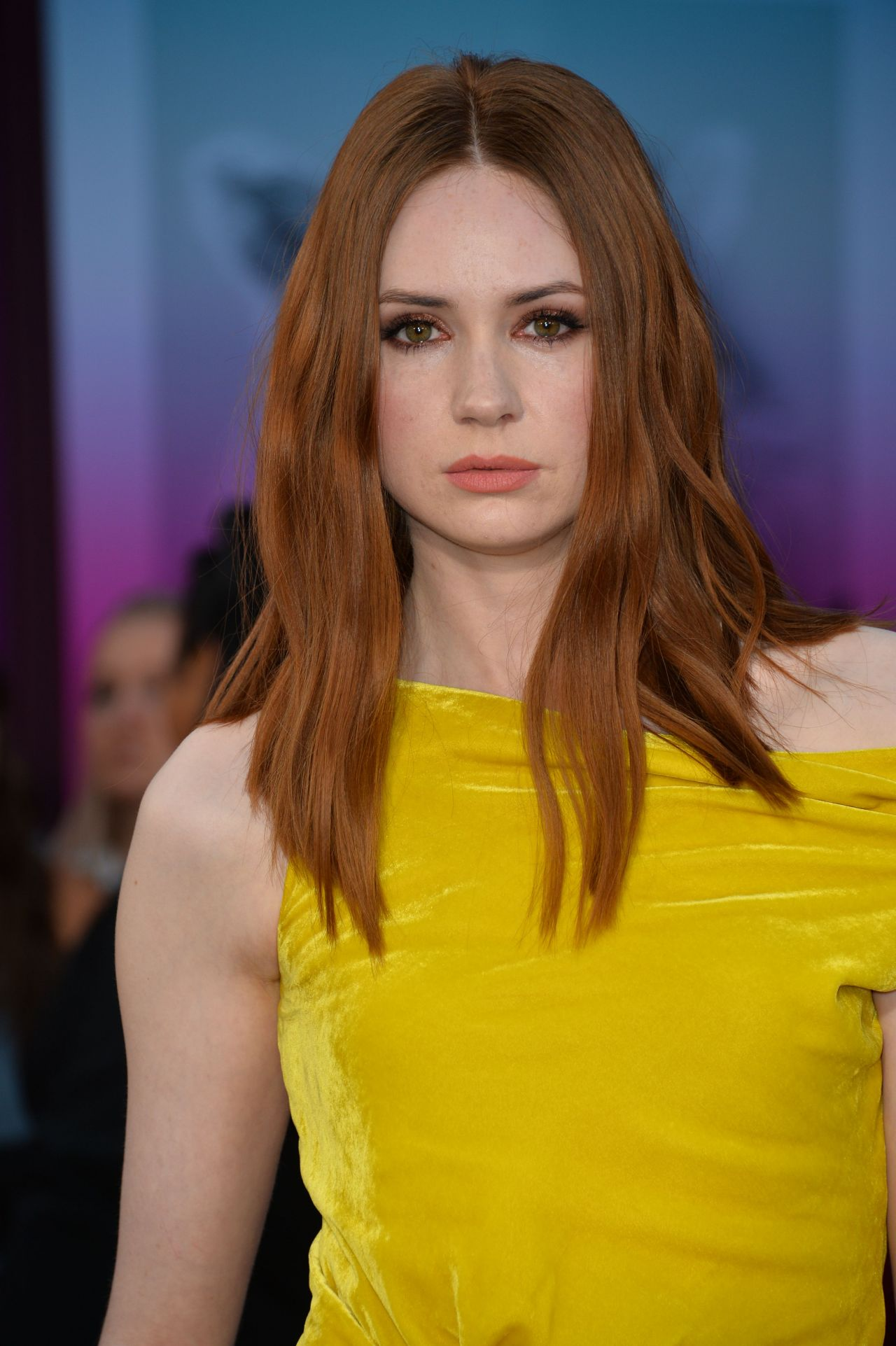 Karen Gillan Guardians Of The Galaxy Vol 2 Premiere In