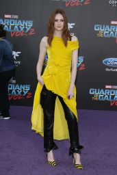 Karen Gillan – Guardians of the Galaxy Vol. 2 Premiere in Los Angeles