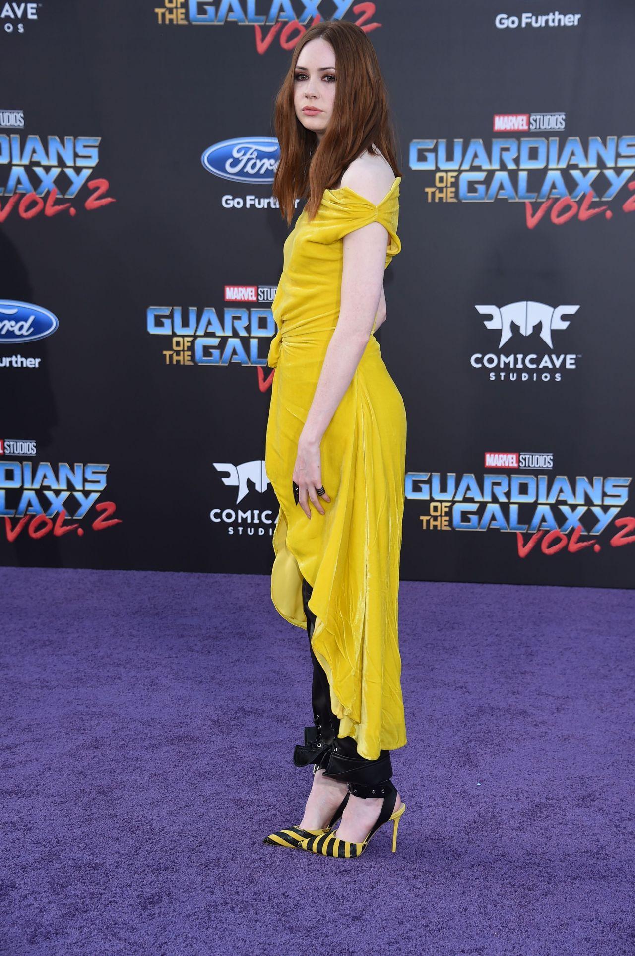 Karen Gillan Guardians Of The Galaxy Vol 2 Premiere In