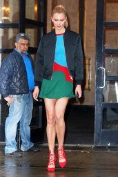Karlie Kloss Arriving at Good Morning America 4/21/2017