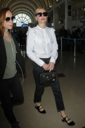 Kate Bosworth - Arrives at LAX Airport in LA 4/7/2017