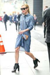 Kate Bosworth - Leaving Her Hotel in New York City 4/20/2017