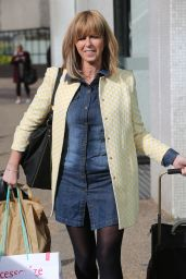 Kate Garraway - Leaving ITV Studios in London 4/11/2017