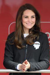 Kate Middleton at The London Marthon 4/23/2017
