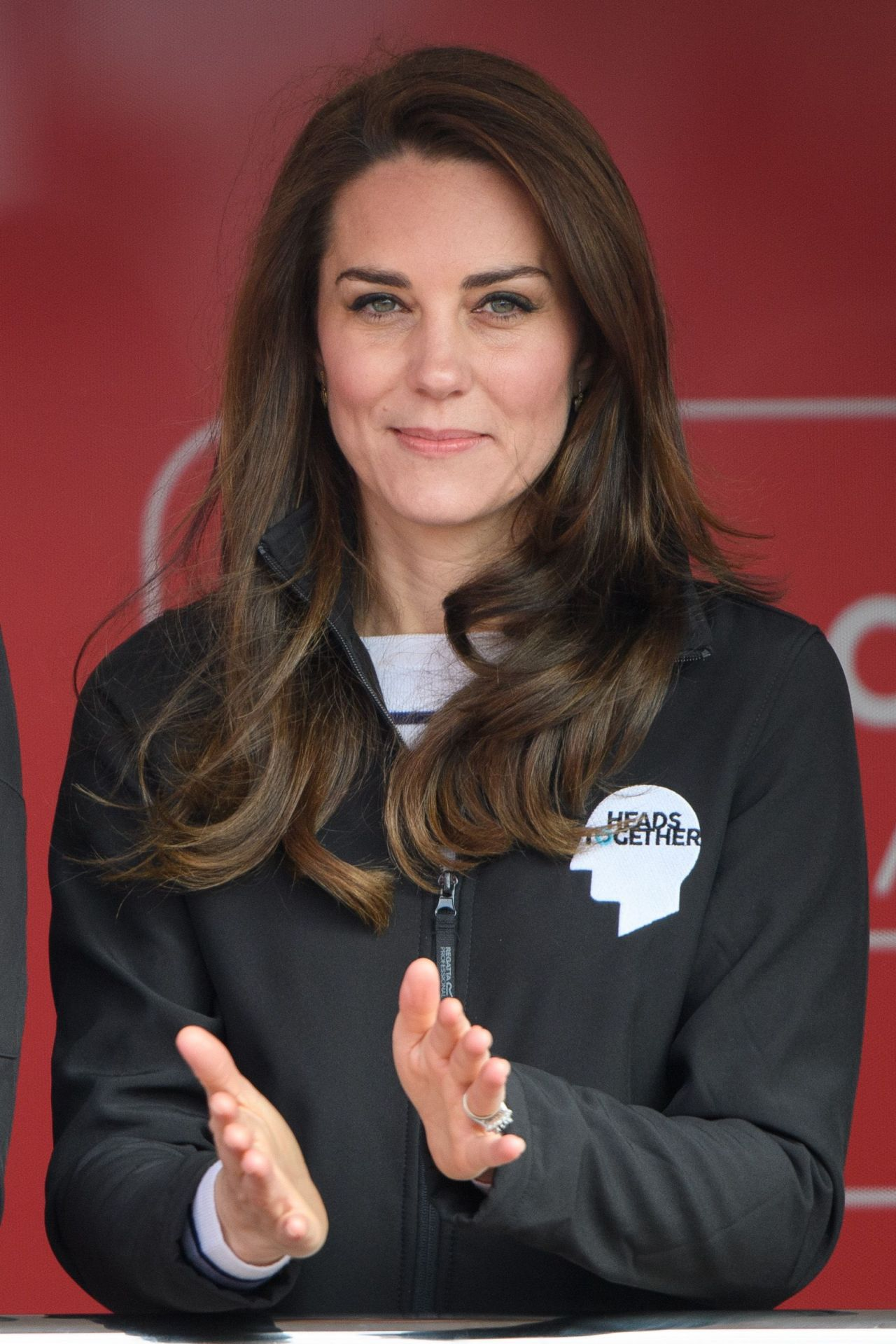 Kate Middleton At The London Marthon 4 23 2017