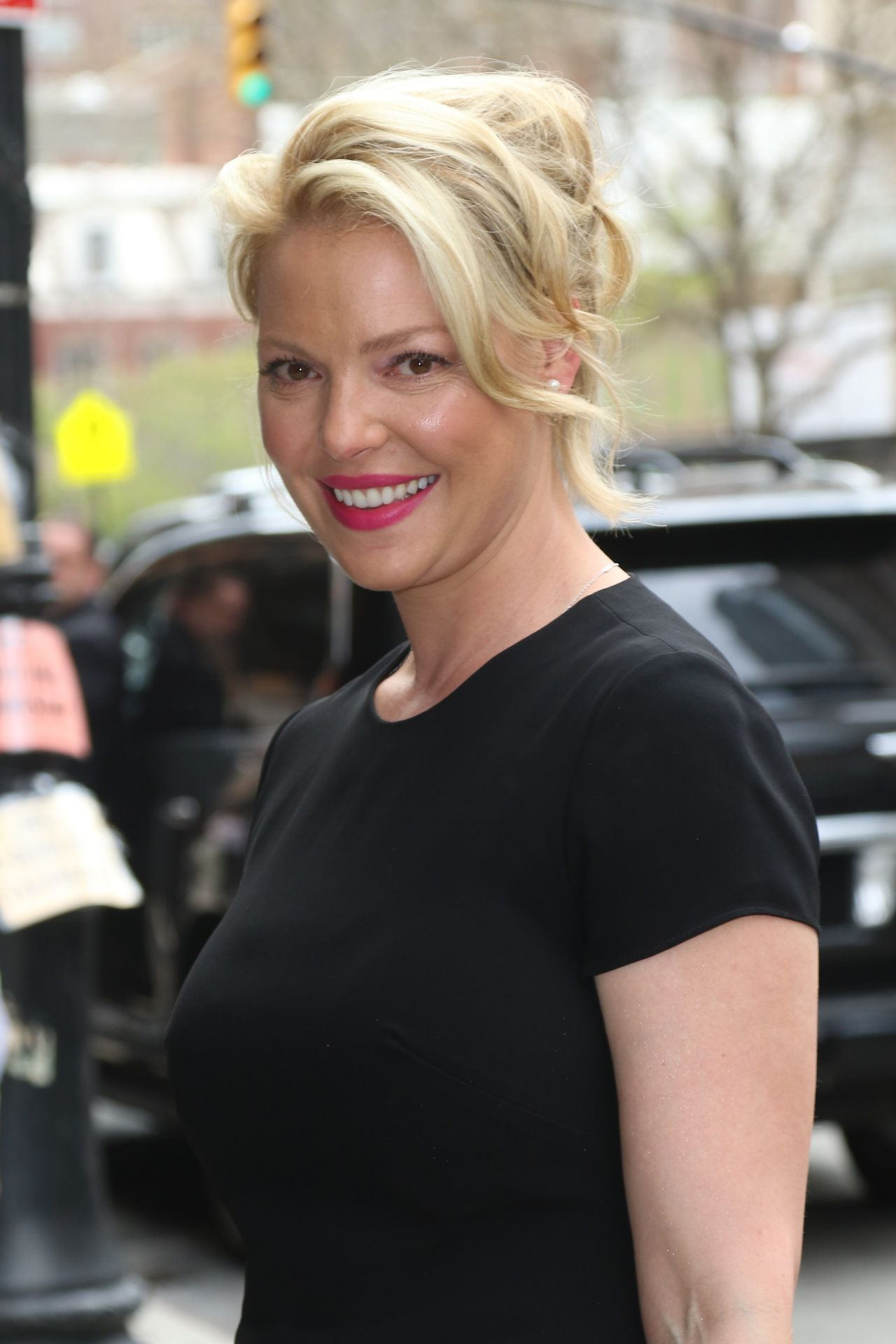 Katherine Heigl Arriving to Appear on 'The Chew' TV Show ... Katherine Heigl