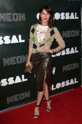"""Katie Aselton on Red Carpet - """"Colossal"""" Premiere in Hollywood 4/4/2017"""
