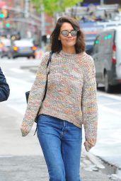 Katie Holmes Street Style - New York 04/25/2017