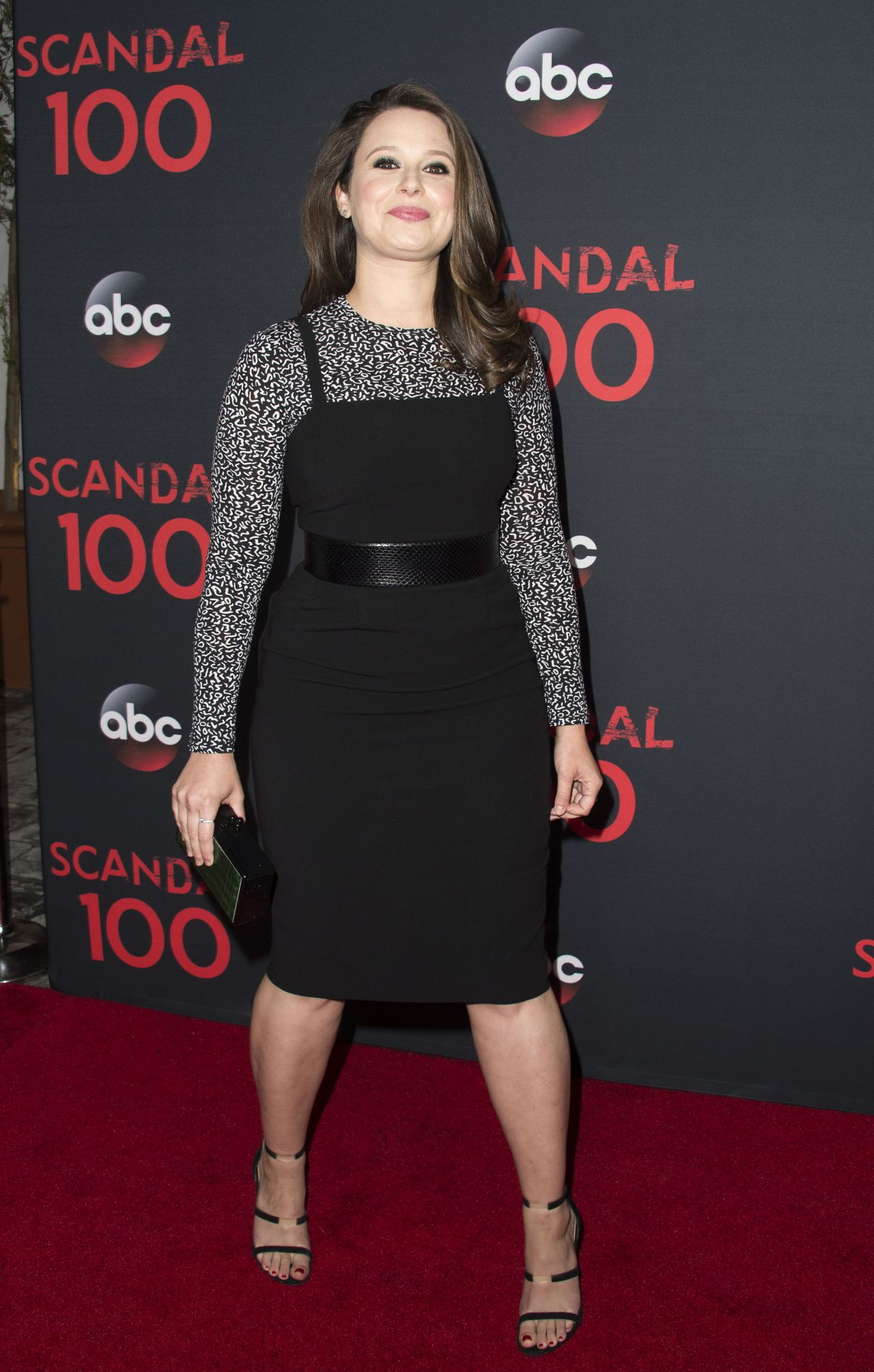 Katie Lowes Scandal 100th Episode Celebration In Weho