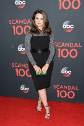"""Katie Lowes – """"Scandal"""" 100th Episode Celebration in WeHo 4/8/2017"""