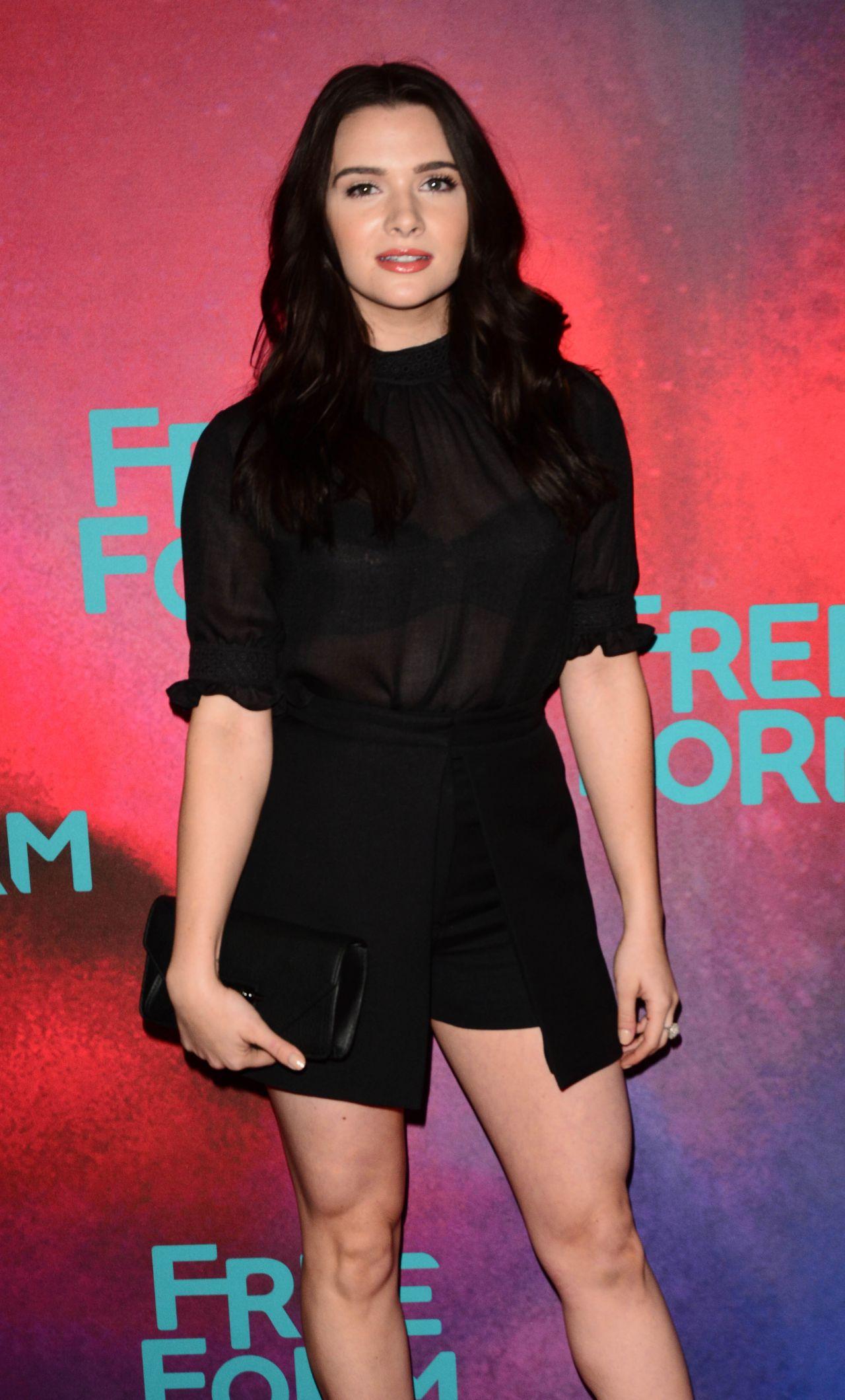 Katie Stevens 2017 Freeform Upfront In New York 4 19 2017