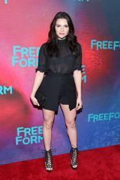 Katie Stevens – 2017 Freeform Upfront in New York 4/19/2017