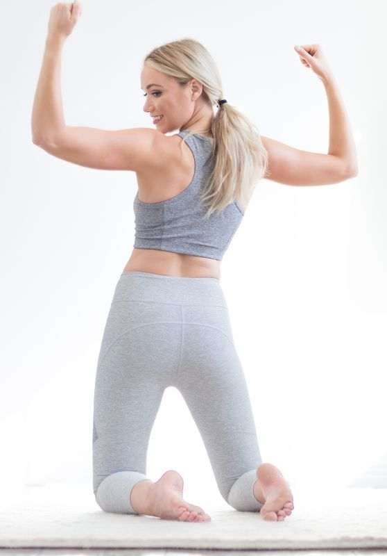 """Katrina Bowden - """"The Importance of Fitting in a Workout"""", April 2017"""