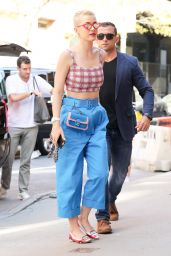 Katy Perry Looking Fashionable - Hading to the Studio in New York City 04/28/2017