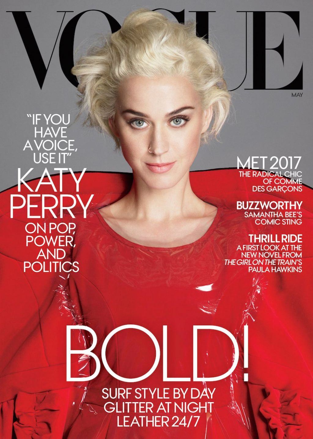 Vogue Magazine Subscription: Katy Perry -Vogue Magazine US May 2017 Cover And Photos