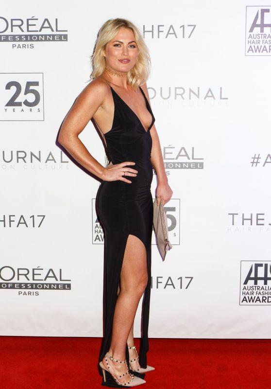 Keira Maguire – Australian Hair Fashion Awards 2017 in Sydney