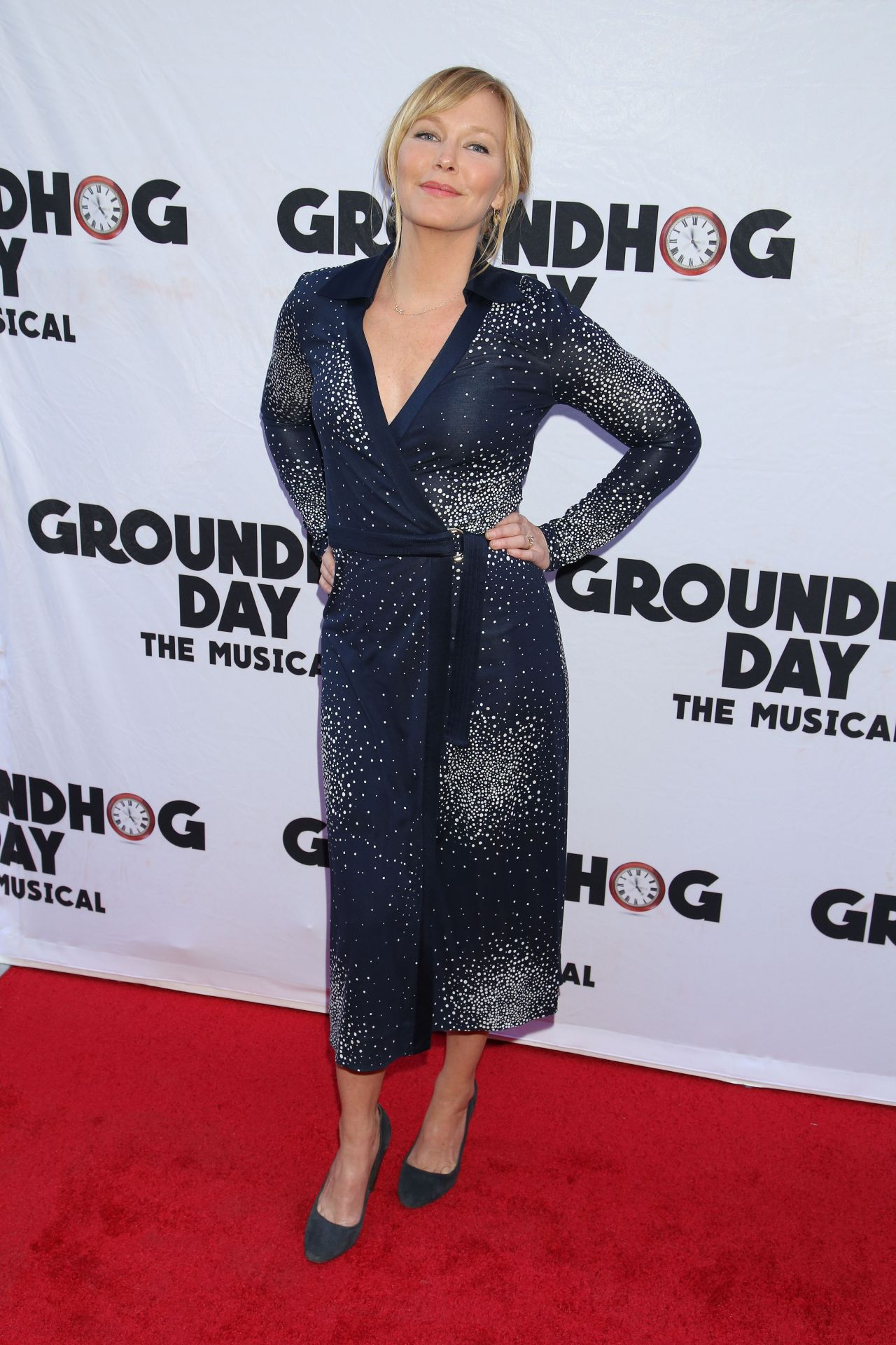 Kelli Giddish Groundhog Day The Musical In New York 4