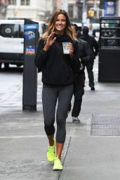 Kelly Bensimon in Leggings - Out in NYC 04/26/2017