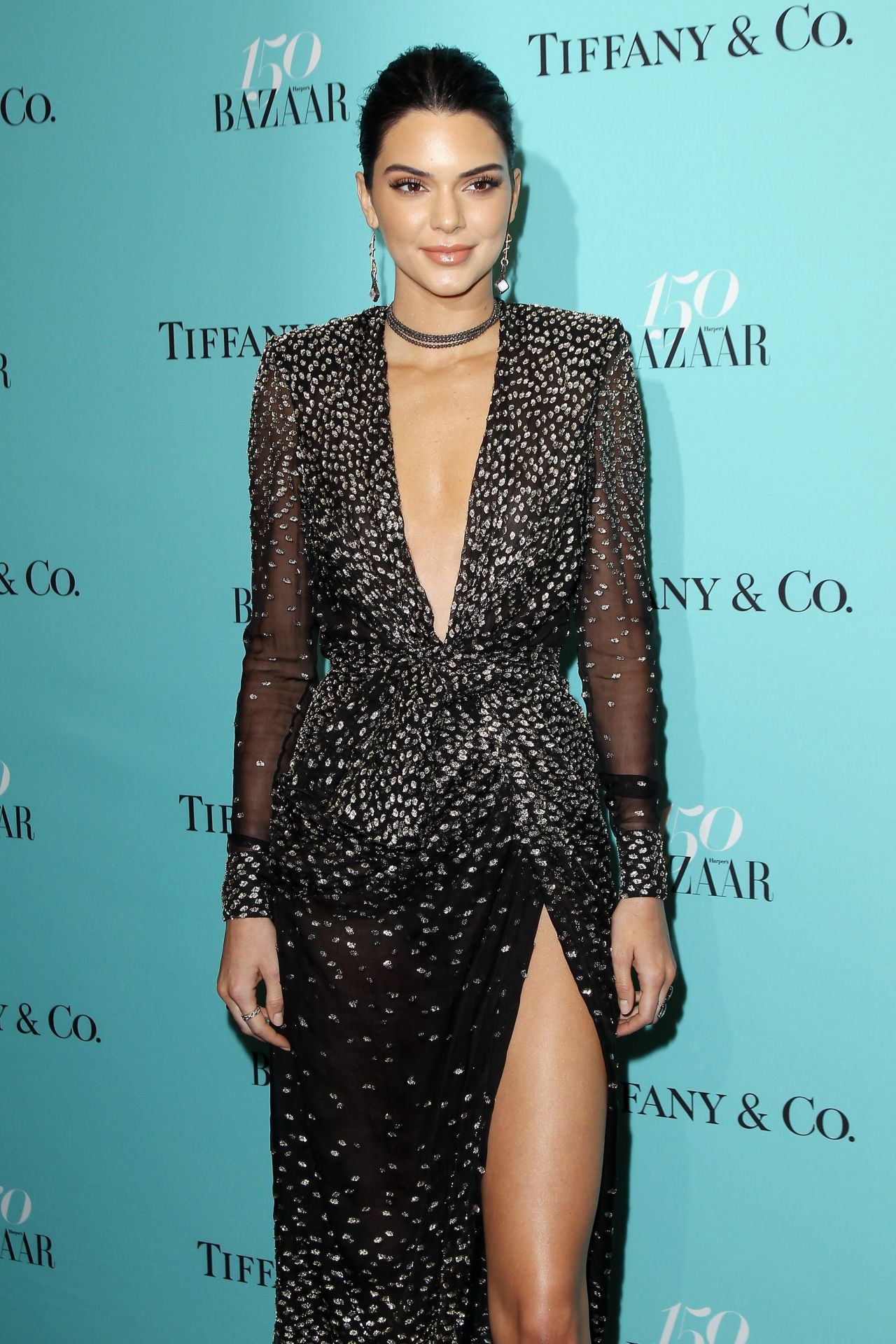 Kendall jenner at harpers tiffany co celebrate new picture