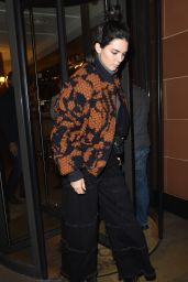 Kendall Jenner - Leaving C Restaurant in Mayfair, London 4/5/2017