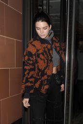 Kendall Jenner - Leaving C Restaurant in Mayfair, London 4/5/2017