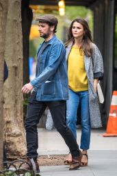 Keri Russell and Matthew Rhys - New York City 4/24/2017
