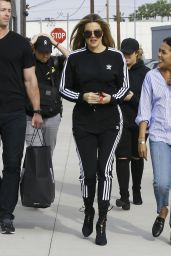 Khloe Kardashian at the Studio Filming For her TV Show - Culver City 4/6/2017