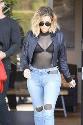 Khloe Kardashian Style and Fashion Inspirations - Westlake Village 04/26/2017