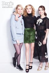 Kiernan Shipka, Emma Roberts and Lucy Boynton - People Magazine 2017