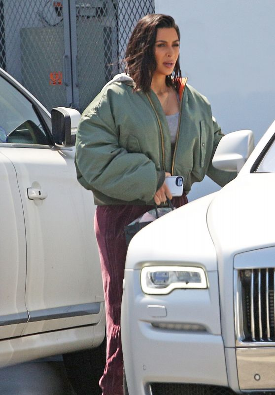 Kim Kardashian at a Studio in Los Angeles 4/3/2017