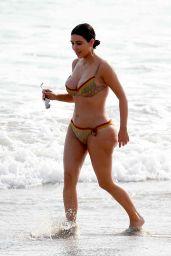 Kim Kardashian in Bikini - Beach in Tulum, Mexico 4/24/2017