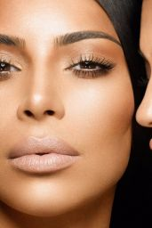 Kim Kardashian & Kylie Jenner - Photoshoot for Kylie Cosmetics 2017
