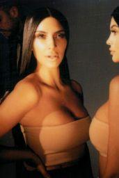 Kim Kardashian & Kylie Jenner - Photoshoot for Kylie Cosmetics 2017