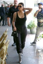 Kim Kardashian - Leaves at Restaurant in LA 4/7/2017