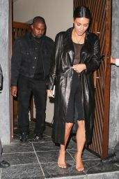 Kim Kardashian - Leaving a Sushi Restaurant in LA 4/1/2017