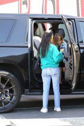 Kourtney Kardashian at a Bowling Alley in Los Angeles 4/13/2017