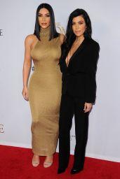 """Kourtney Kardashian - """"The Promise"""" Premiere in Los Angeles 4/12/2017"""