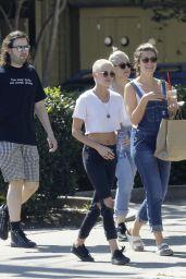 Kristen Stewart in Ripped Jeans - New Orleans 4/20/2017