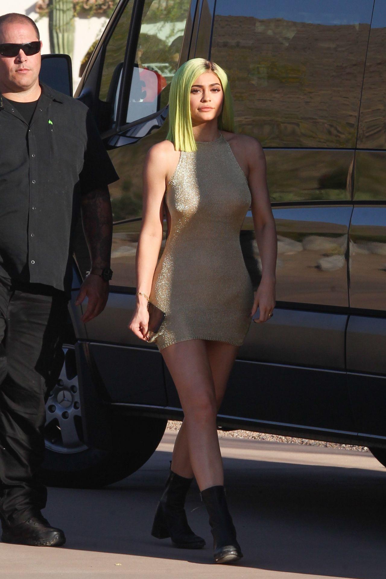 Kylie Jenner Arrived a...